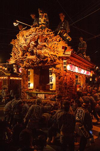 鹿沼市の歴史 彫刻屋台にみる木工技術