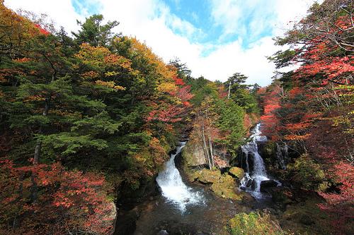竜頭の滝 奥日光三名瀑の一つ